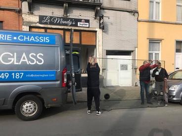 double vitrage verre feuilleté 180 kg Bruxelles