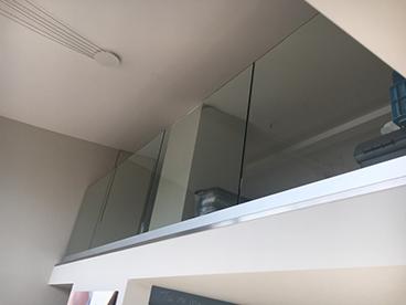 Double vitrage Garde corps en verre