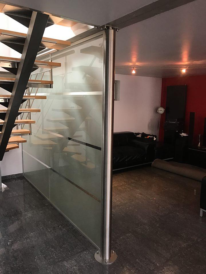 cloison vitr e plus des porte pivotante en verre a braine l 39 alleud vitrerie glass. Black Bedroom Furniture Sets. Home Design Ideas